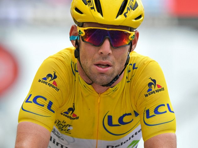Mark Cavenish na Tour de France.