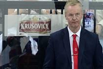 Trenér hokejistů Finska Kari Jalonen.