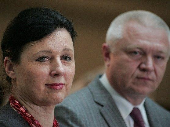 Věra Jourová a Jaroslav Faltýnek