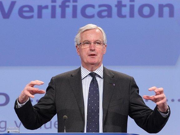Eurokomisař pro vnitřní trh Michel Barnier