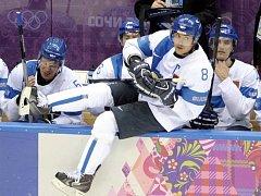 Teemu Selänne byl zvolen nejužitečnějším hráčem hokejového turnaje na olympijských hrách v Soči.