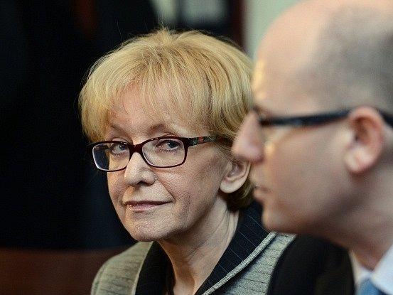 Do úřadu ministryně spravedlnosti Helenu Válkovou uvedl ve čtvrtek premiér Sobotka.
