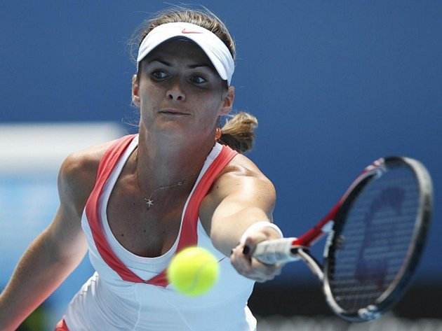 Tenistka Iveta Benešová v osmifinále Australian Open.