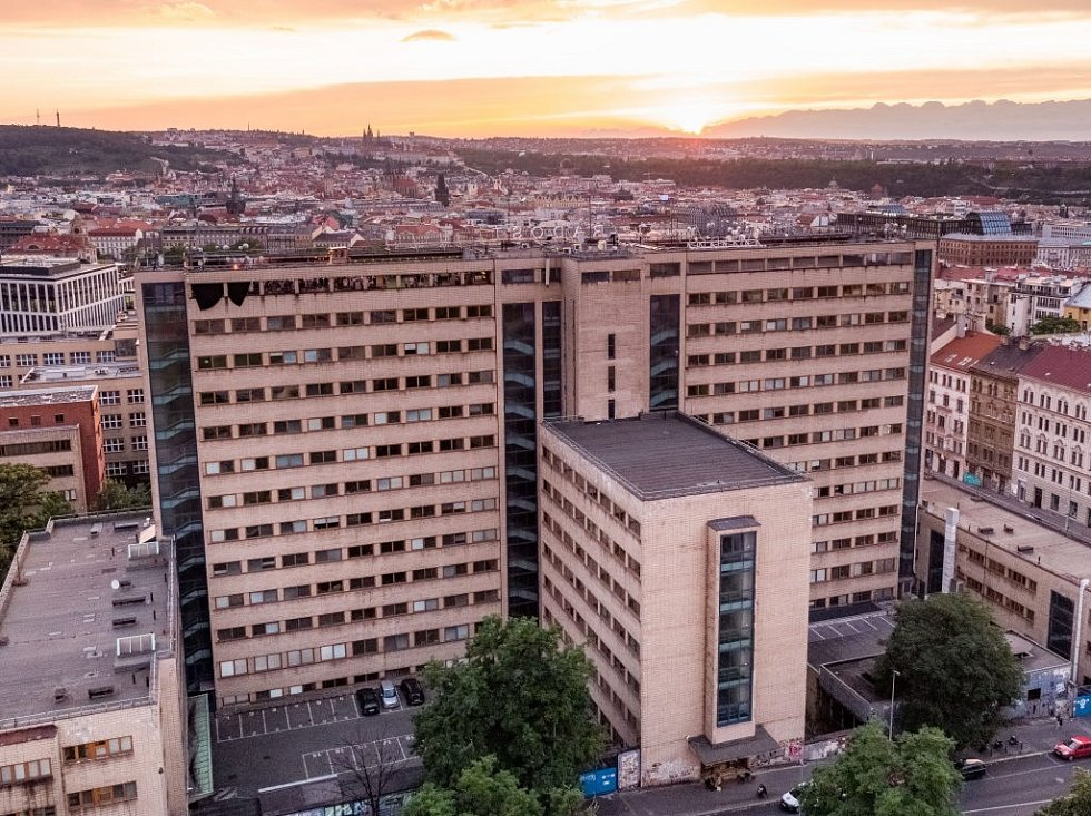 První československý mrakodrap na Žižkově