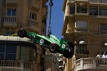 Marcus Ericsson ze stáje Caterham v Monaku
