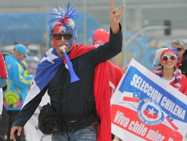 Fanoušci Chile na MS