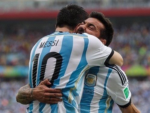 Argentina - Nigérie: Radost favorita z gólu Lionela Messiho