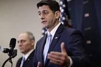Předseda Sněmovny reprezentantů amerického Kongresu Paul Ryan.