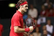 Roger Federer dovedl Švýcary k postupu do finále Davis Cupu
