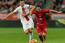 Polsko - Česko: Kamil Vacek patřil k nejlepším hráčům na hřišti