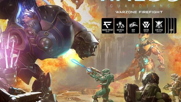 Xbox One hra Halo 5: Guardians - Warzone Firefight.