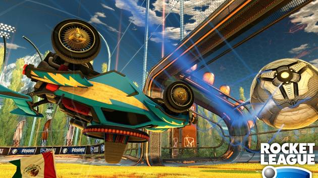 Počítačová hra Rocket League.