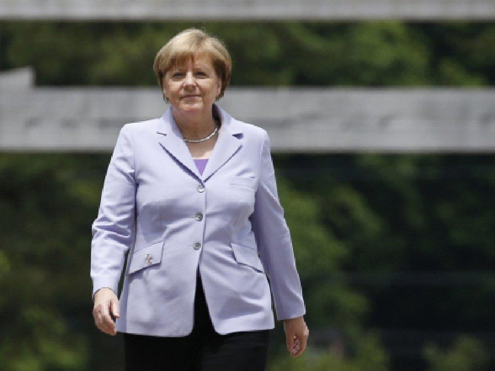 Německá kancléřka Angela Merkelová. Rok 2016