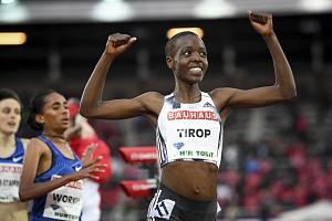 Atletka Agnes Tiropová z Keni na snímku z 30. května 2019.