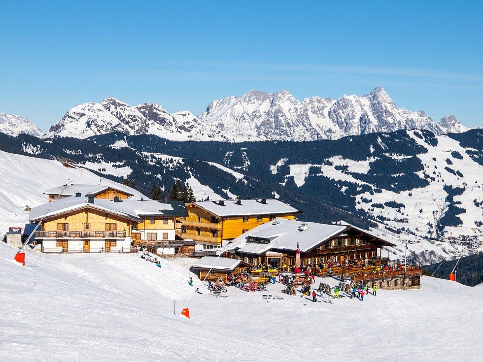 Leogang v Rakousku