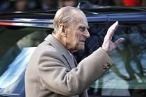 Manžel britské královny Alžběty princ Philip