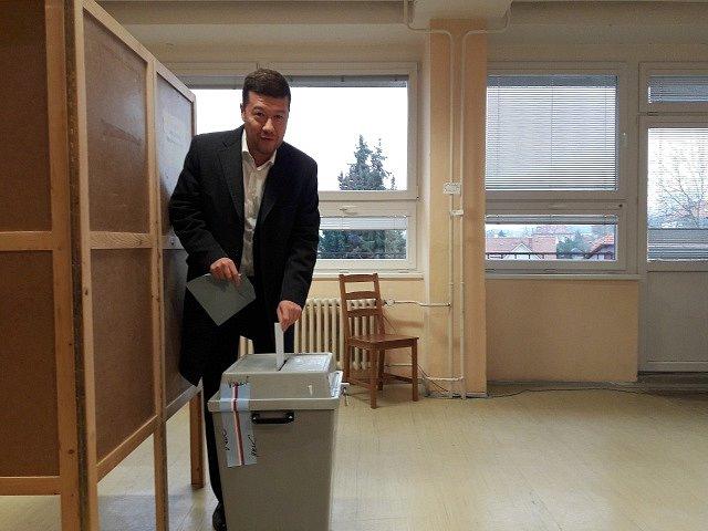 Tomio Okamura volil prezidenta