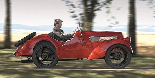 BMW 3/15 PS zroku 1929.