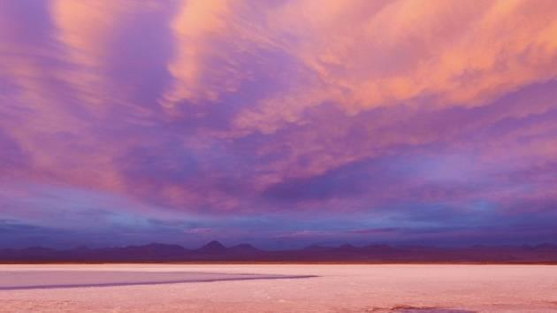 Chilská poušť Atacama