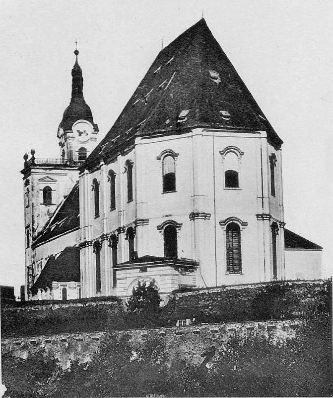Olomoucká katedrála před představbou, tedy před rokem 1883