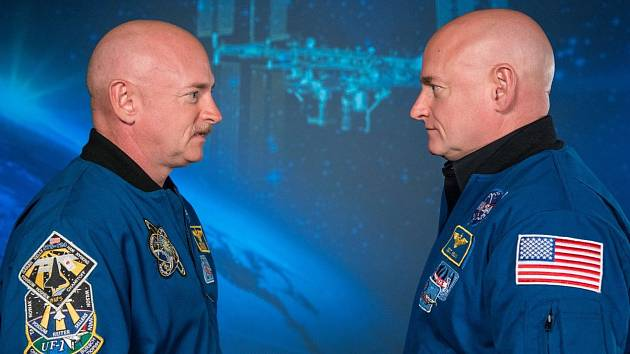 Astronauti Scott a Mark Kellyovi