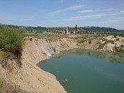 Solná jezera Solotvino