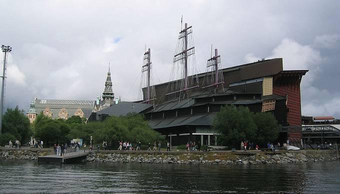 Muzeum Vasa ve švédském hlavním městě Stockholmu