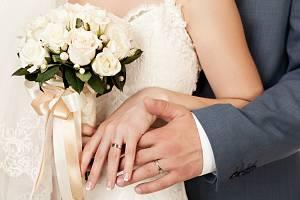 Svatební prsten. Ilustrační snímek
