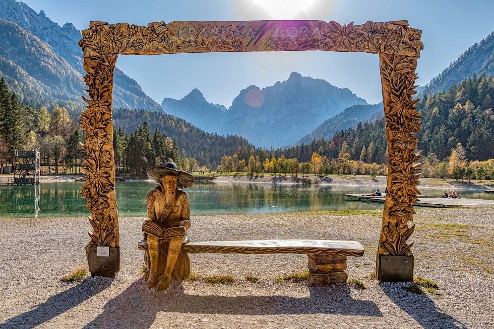 Slovinský národní park Triglav je proslavený krásnými jezery.