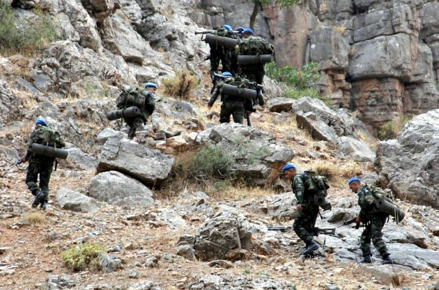 Turečtí vojáci se připravují na operaci proti kurdským rebelům.