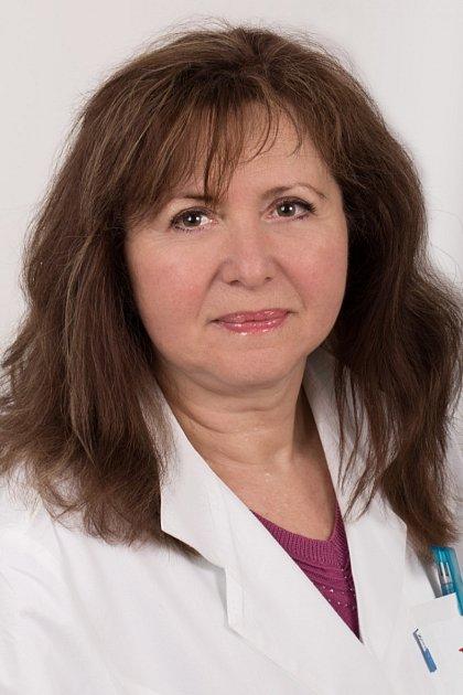 Profesorka kardiologie Věra Adámková