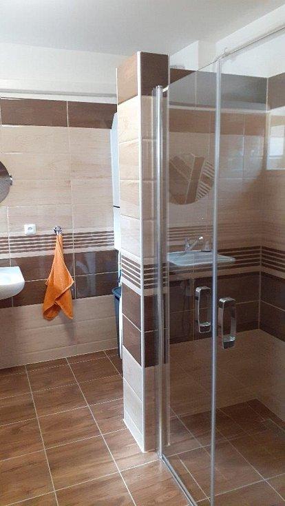 Stavební úpravy koupelny na bezbariérovou se zdařily