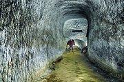 Kaolínový důl v Nevřeni