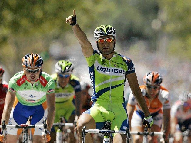 Ital Francesco Chicchi vyhrál poslední etapu cyklistického závodu Tour Down Under.