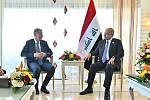 Premiér Andrej Babiš na summitu v Egyptě