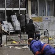 Nepokoje v Bosně.