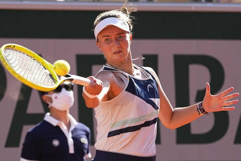 Česká tenistkaBarbora Krejčíková