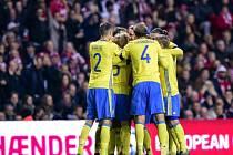 Splněná povinnost. Švédsko postoupilo přes Dánsko na Euro