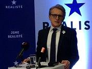 Politolog Petr Robejšek zakládá stranu Realisté.