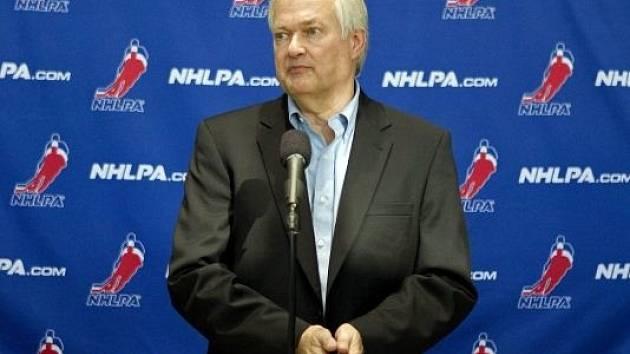 Šéf hráčských odborů Donald Fehr.