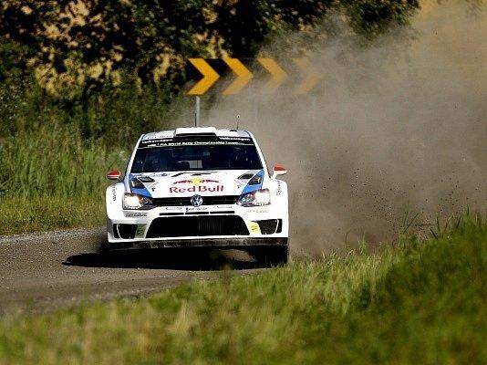Jari-Matti Latvala na domácí Finské rallye