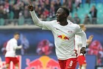 Naby Keita se na výhře Lipska nad Brémami podílel dvěma góly.