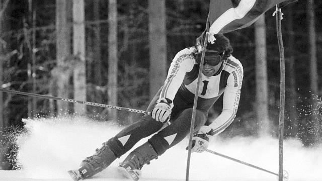 Bohumír Zeman na Mistrovství ČSSR v roce 1982
