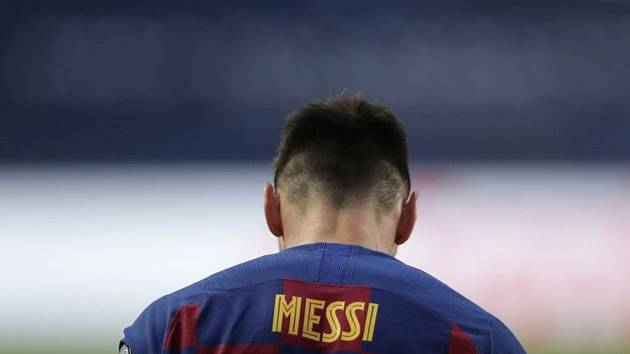 Fotbalista Barcelony Lionel Messi,