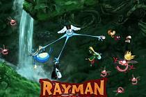 Počítačová hra Rayman Origins.