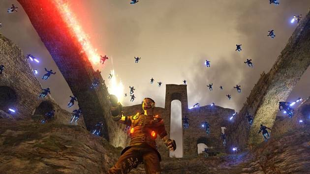 Počítačová hra Shootmania Storm.