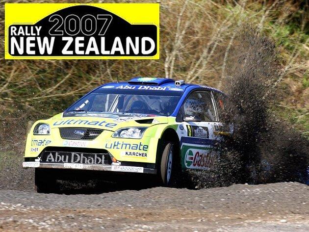 Marcus Grönholm je hlavním favoritem Rallye Nový Zéland.