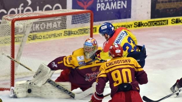 hokejisté Jihlavy se dostali na druhé místo první hokejové ligy