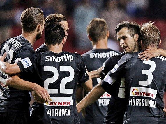 Skoro nikdo jim nevěřil, ale fotbalisté Jablonce dokázali přes Kodaň postoupit