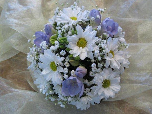 Svatební vazba floristů z Letizie